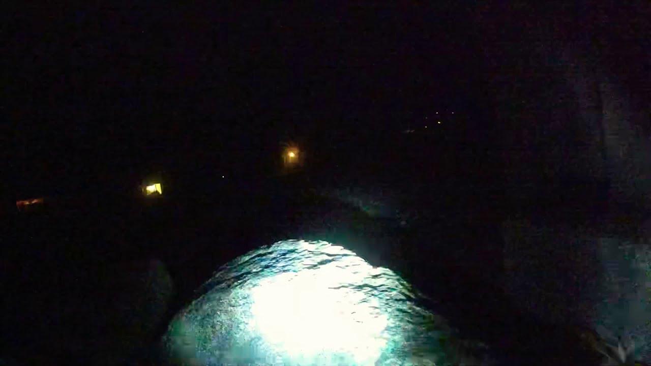 Trx4 Dji Fpv 4WS. Driving from inside the Rotorhome at night фотки