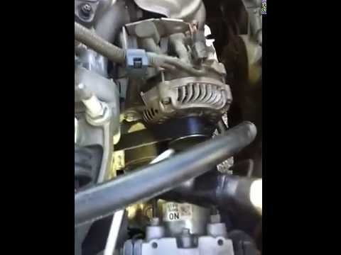 2006 Honda Civic 1 8 SERPINTINE BELT YouTube