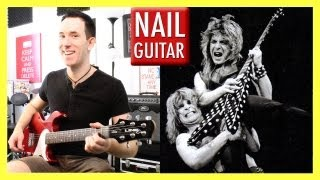 Crazy Train - Ozzy Osbourne - Guitar Lesson - Intro Riff Rock Guitar Instructional Tutorial