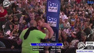 Hardrock MMA 100 Fight 6 Bryant Haynes vs Javier Carbajal 135 Ammy