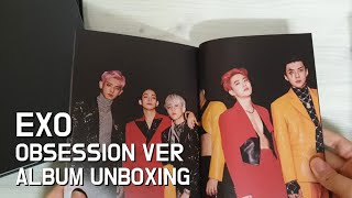 unboxing#17 엑소(EXO) - OBSESSION VER 앨범 언박싱 (EXO/OBSESSION VE…