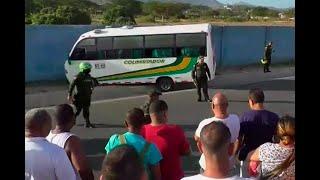 Miembros del Clan del Golfo fueron ultimados en bus intermunicipal de Santa Marta