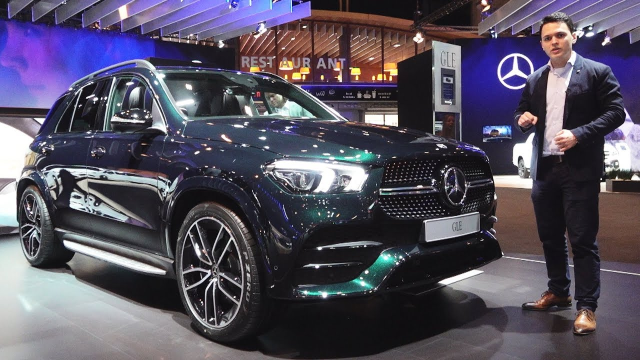 2019 Mercedes GLE  AMG Line GLE 300d FULL Review Interior