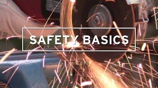 DRONCO Safety Basics - Der richtige Umgang mit dem Winkelschleifer
