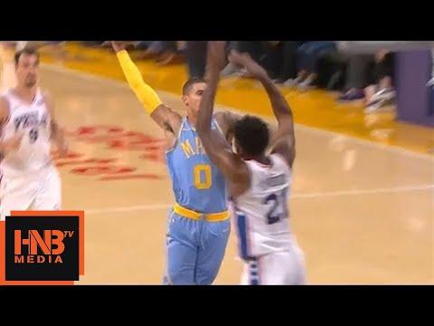 Kyle Kuzma Over Joel Embiid / Crazy Attempt / Lakers vs Sixers