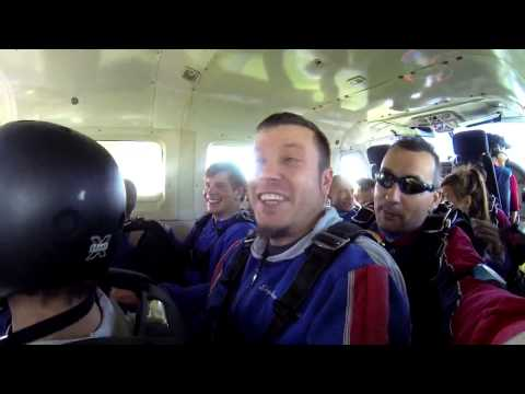 Evan Jones's Tandem skydive!