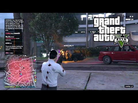 "Organization ""Anger Management"" The Battle of Tryhards and Nosofts - GTA 5 Online HD Live Stream"