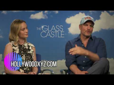 Brie Larson & Woody Harrelson Interview For The Glass Castle