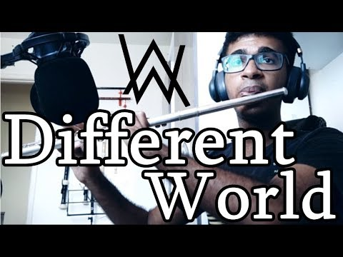 Alan Walker feat K-391 -  Different World - Instrumental Flute Cover
