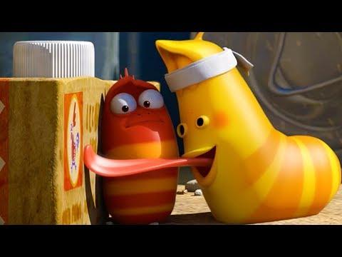 LARVA - BLINDFOLD TAG   Cartoon Movie   Cartoons For Children   Larva Cartoon   LARVA Official