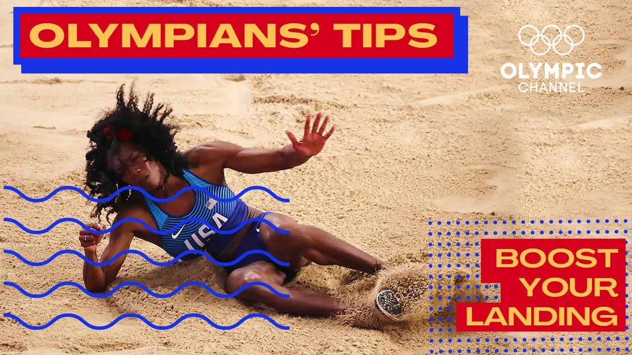 How to Improve your Landing in the Jump Phase feat. Tori Franklin | Olympians' Tips
