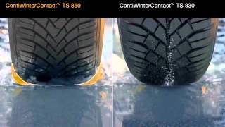 видео Легковые шины CONTINENTAL модель TS 850 WinterContact