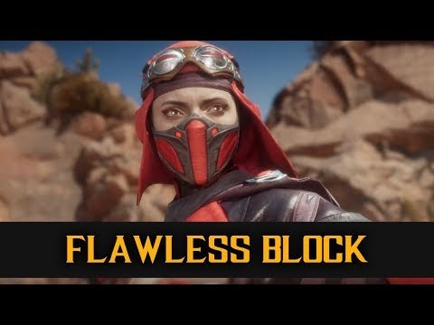 MK11 Explained - Flawless Block (Gaps and Jump Ins)