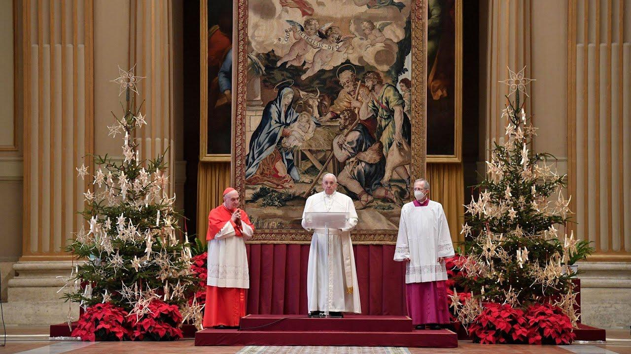 Sứ điệp Giáng Sinh Urbi et Orbi và Ơn Toàn Xá 2020 của Đức Thánh Cha nhắc đến quê hương Việt Nam