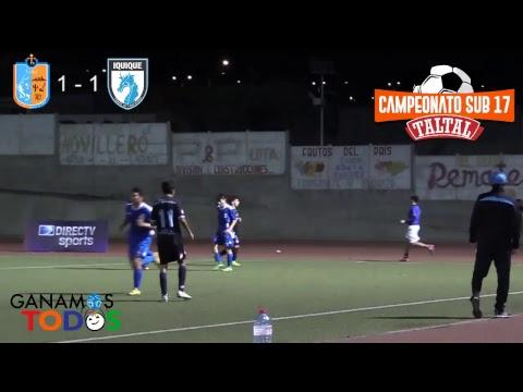 Taltal vs Deportes Iquique - Campeonato Sub-17 Taltal 2018