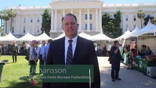 California Farm Bureau Federation Centennial Celebration at the state Capitol