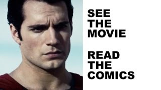 Man of Steel 2013 - Comics Review! See Man of Steel in 2013, read the best Superman comics from DC!