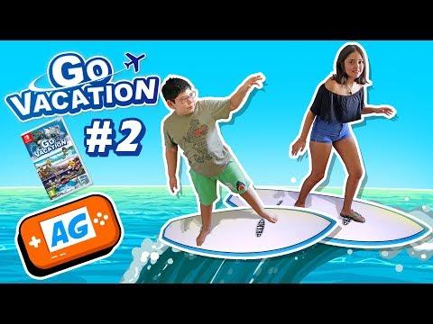 Surcando las Olas , Surf en Go Vacation Nintendo Switch en Abrelo Game