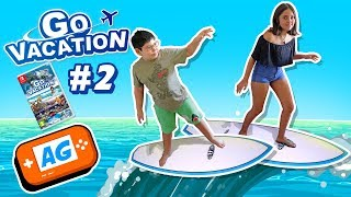 Surcando las Olas , Surf en Go Vacation Nintendo Switch en Abrelo Game
