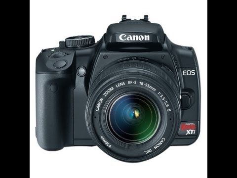 Canon Rebel XTI DSLR Full Length Review And Walkthrough