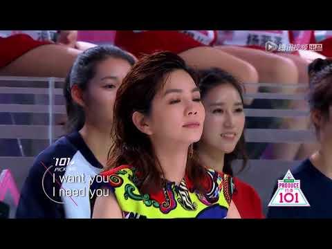 [Produce 101 China] AKB48 China - Heavy Rotation (ep 2 cut)