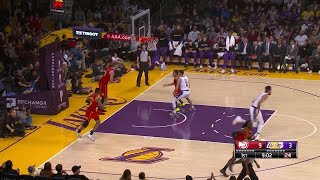 1st Quarter, One Box Video: Los Angeles Lakers vs. Atlanta Hawks