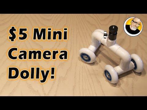 $5 Mini Camera Dolly!