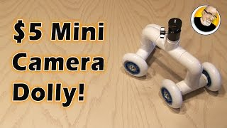 $5 Mini Camera Dolly!(Make a simple camera dolly for smooth tracking video moves! Support this video and get your FREE download at http://audible.com/kipkay Thanks to the ..., 2016-01-15T17:00:00.000Z)