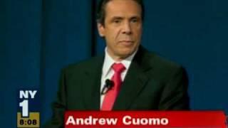 Andrew Cuomo at Gubernatorial Debate at Hofstra