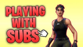 FORTNITE:PLAYING WITH ALL SUBS FREE WINS-847-WINS-12K KILLS LIVE TUNE IN