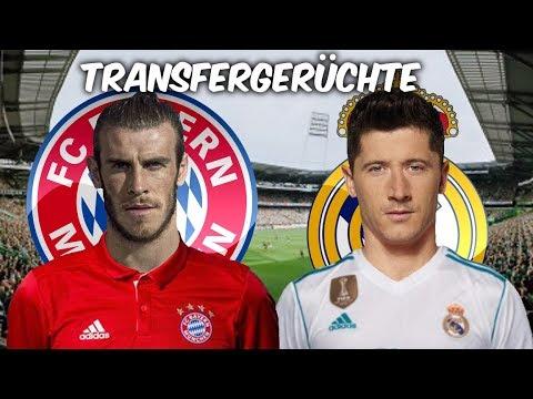 Bale zu Bayern im Tausch dagegen Lewandowski zu Real Madrid ? Transfers und Transfergerüchte 2017/18