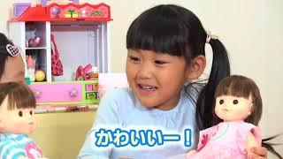 ぽぽちゃんママの1日 ~三つ編みしてあげるね!ぽぽちゃん編~ 三つ編み みつあみ ぽぽちゃん新商品 おもちゃ popochan