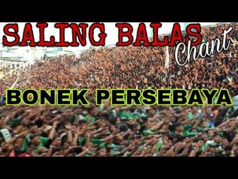 Saling Balas Chant Suporter Bonek saat Persebaya Vs Ps.TNI | Piala Presiden 2018