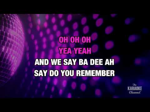 """September in the Style of """"Earth, Wind & Fire"""" with lyrics (no lead vocal)"""