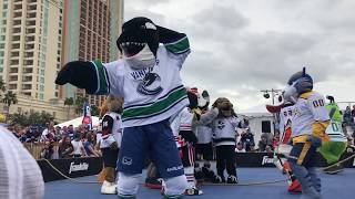 2018 NHL Mascot Showdown Highlights
