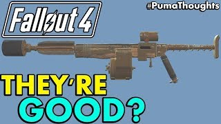 Why Pipe Pistols and Rifles are Good Guns and Weapons in Fallout 4 (Pipe Weapons Worth It?)