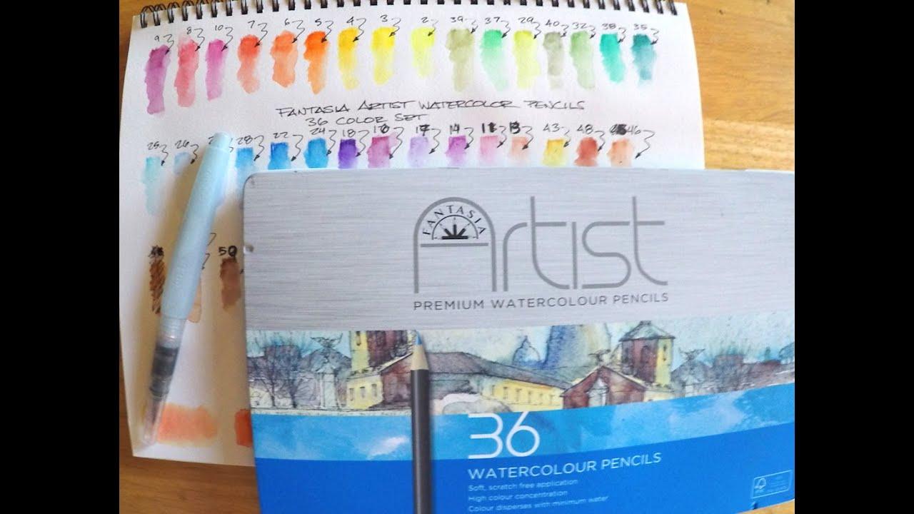 Download Fantasia Artist Watercolor Pencils Review