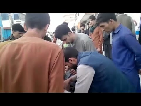 Download Raw Video: Aftermath of Bombings Outside Kabul Airport
