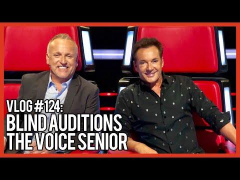 BLIND AUDITIONS THE VOICE SENIOR EN VI ORANJE  GERARD JOLING  VLOG #124
