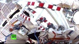 Выход в открытый космос российских космонавтов МКС