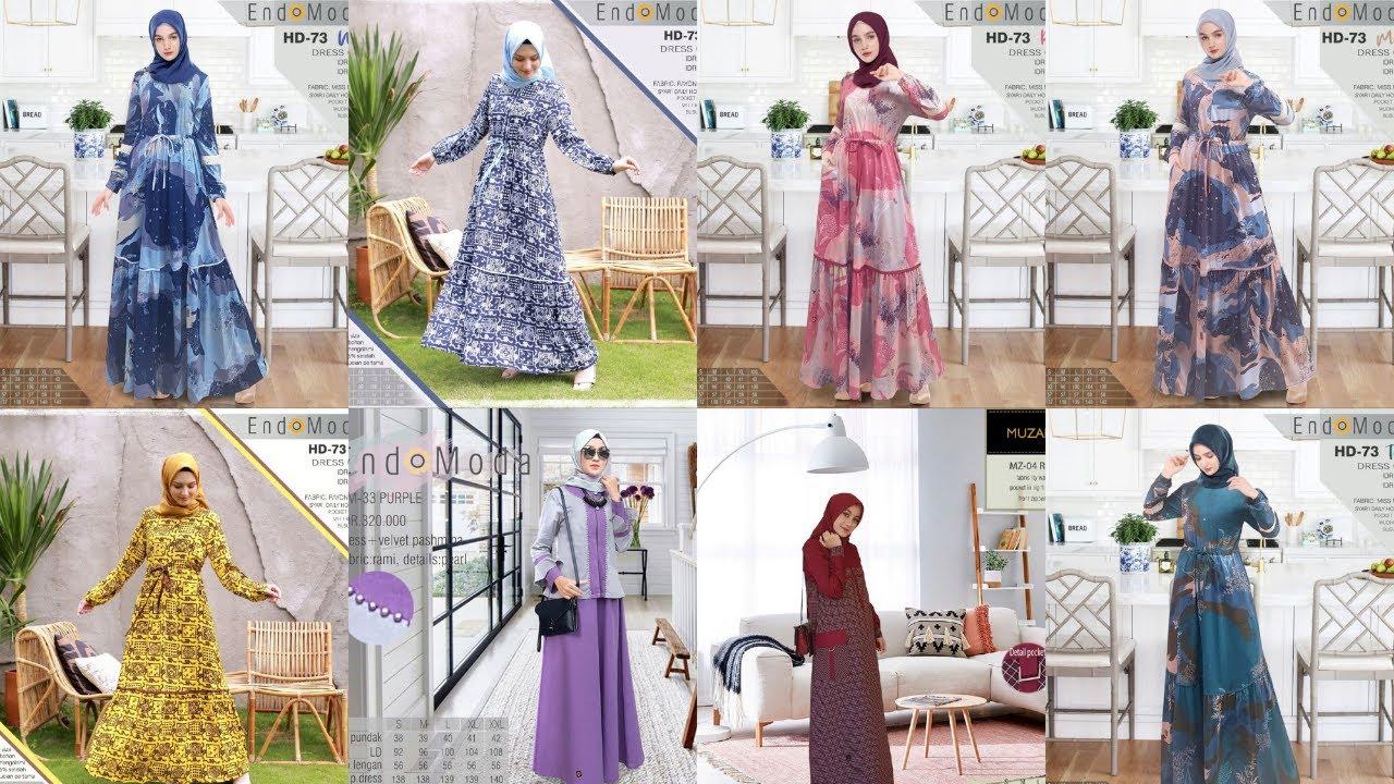 64 Model Baju Gamis Endomoda 2020 Gamis Muslimah Yang Sedang Trend Saat Ini Youtube