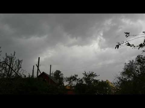 Ливень и Шквал в Городе Долгопрудном / Heavy Wind and Rain in Dolgoprudnyy 29.05