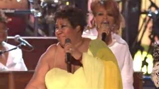Aretha Franklin + Friends - Gospel Medley - Live Grammy Awards - 2008