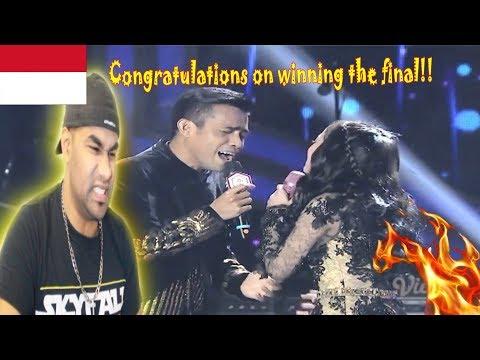 DA Asia 3: FILDAN DA4 Final dan Lesti - Gerimis Melanda Hati (Konser Kemenangan)| INDIAN REACTION