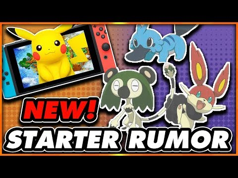 POKEMON STARTER RUMOR FOR NINTENDO SWITCH! COULD THESE BE THE ONES?