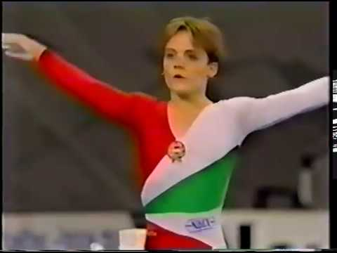 1989 World Gymnastics Championshps - Women's Individual All-Around Final, Session 1 (Japanese TV)