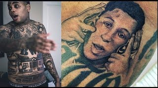 Kevin Gates Proves Loyalty To New Mentee NBA Youngboy By Getting A New Tattoo Of NBA Youngboy's Face
