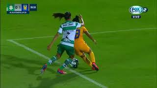 embeded bvideo FEMENIL | Resumen | Santos 2 - 2 Tigres | Liga MX Femenil - Apertura 2019  - Jornada 3