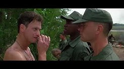 FOREST GUMP Forest and Bubba meeting Lieutenant Dan for the first time Scene | HD Video | 1994