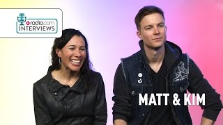 "Matt and Kim Talk Indie Music: ""Watching People Look Bored Is Boring!"""